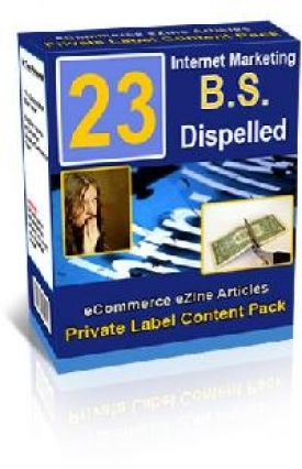 23 Internet Marketing B.S. Dispelled Report