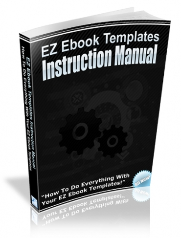 EZ Ebook Templates Instruction Manual