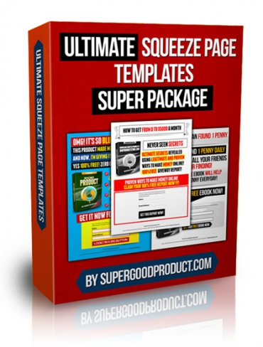 Ultimate Squeeze Page Templates Super Package