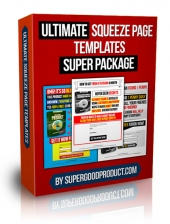 Ultimate Squeeze Page Templates Super Package Private Label Rights