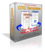 One Time Offer Website Templates Private Label Rights