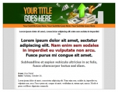 PLR Minisite Template Private Label Rights