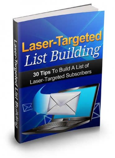 Laser Targeted List Building
