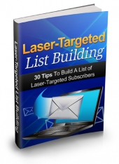 Laser Targeted List Building Private Label Rights