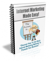 Internet Marketing Made Easy Private Label Rights