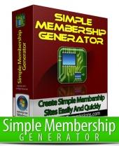 Simple Membership Generator Private Label Rights