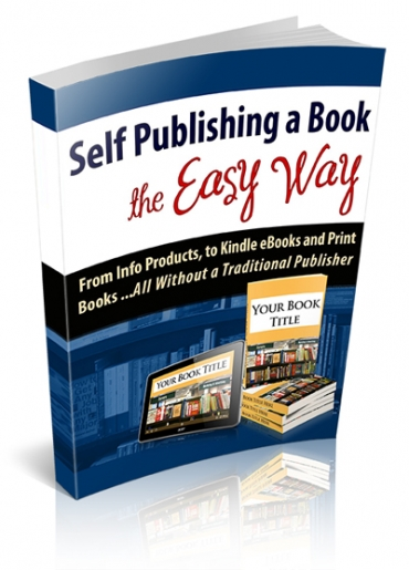 Self Publishing A Book The Easy Way
