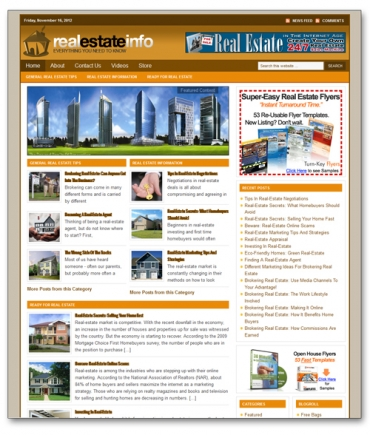 Real Estate Niche Blog