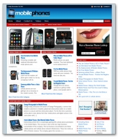 Mobile Phones Niche Blog Private Label Rights