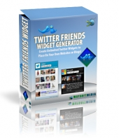 Twitter Friends Widget Private Label Rights