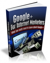Google+ For Internet Marketers Private Label Rights