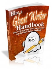 Hire a Ghostwriter Handbook Private Label Rights