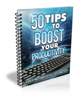 50 Tips to Boost Your Productivity Private Label Rights
