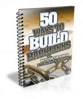 50 Ways to Build Backlinks Private Label Rights