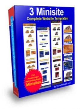 3 Minisite : Complete Website Templates