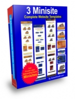 3 Minisite : Complete Website Templates Private Label Rights