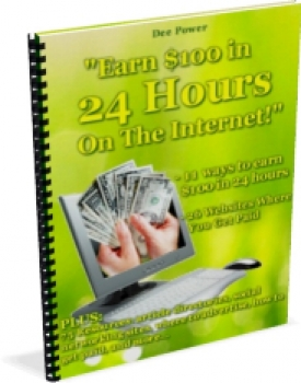 Earn $100 in 24 Hours On The Internet