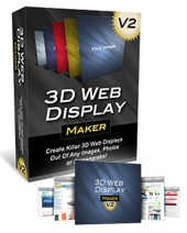 3D Web Display Maker V2 Private Label Rights