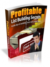 Profitable List Building Secrets Private Label Rights