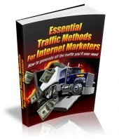 Essential Traffic Methods For Internet Marketers Private Label Rights