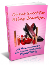 Cheat Sheet For Being Beautiful Private Label Rights