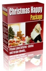 Christmas Happy Package Private Label Rights