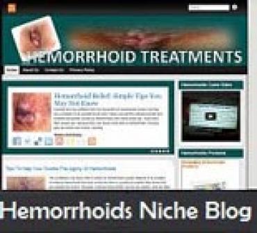 Hemorrhoids Niche Blog