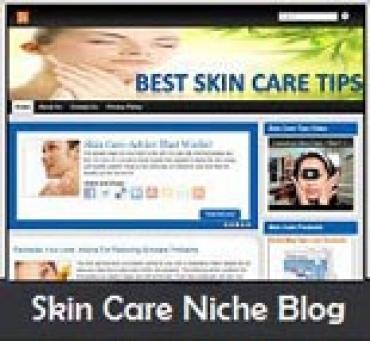 Skin Care Niche Blog