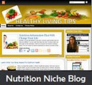 Nutrition Niche Blog
