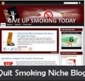 Quit Smoking Niche Blog Private Label Rights