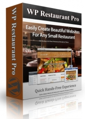 WP Restaurant Pro Theme Private Label Rights
