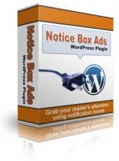 WordPress Notice Box Ads Plugin Private Label Rights