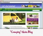 Camping WordPress Blog Private Label Rights
