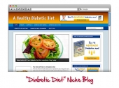 Diabetic Diet WordPress Blog Private Label Rights
