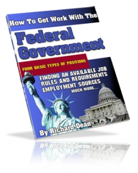 How To Get Work With The Federal Goverment