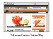 Chinese Cuisine WordPress Blog Private Label Rights