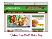Gluten Free WordPress Niche Blog Private Label Rights
