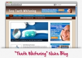 Teeth Whitening WordPress Blog Private Label Rights
