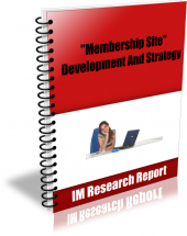 Membership Site – Development And Strategy Private Label Rights