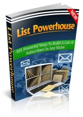 List Powerhouse Private Label Rights