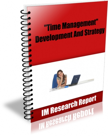 Time Management - Development and Strategy