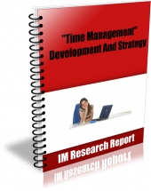 Time Management - Development and Strategy Private Label Rights