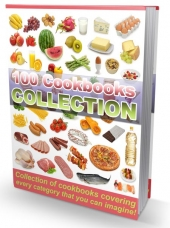100 Cookbooks Collection Private Label Rights