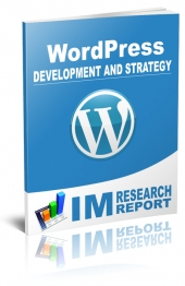WordPress Report - Development and Strategy Private Label Rights