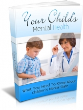 Your Childs Mental Health Private Label Rights