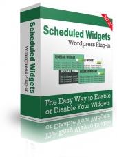 Scheduled Widgets WordPress Plugin Private Label Rights