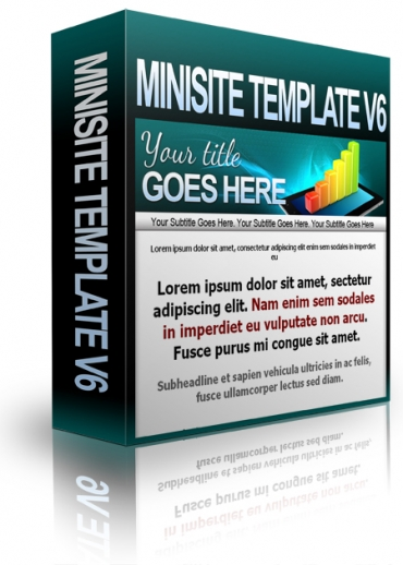 Minisite Template V6