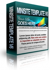Minisite Template V6 Private Label Rights