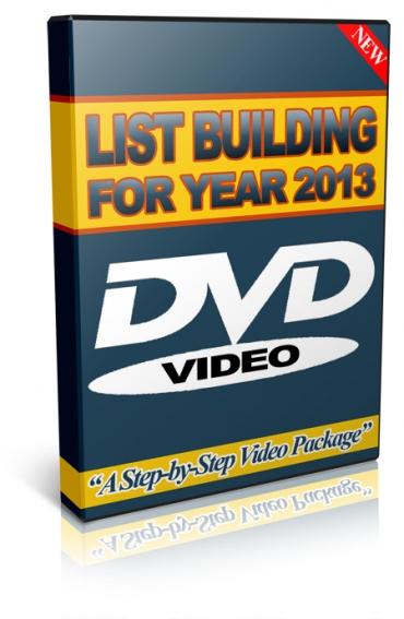 List Building 2013