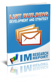 List Building – Development And Strategy Private Label Rights